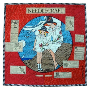 "26. ""Needlework 1928"" Pauline Salzman Treasure Island, Florida"