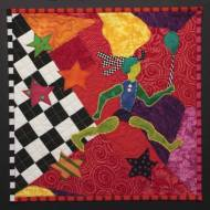 """Four Sided Journey"", 2008, for the ""My Quilts/ Our History"" contest."